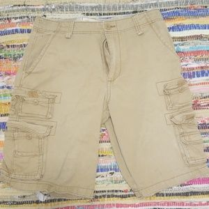 Plugg Tan Cargo Shorts 31  3 plus items 20 % off